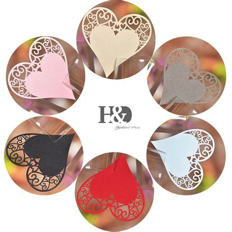 Heart free vector we have about (4,314 files) free vector in ai, eps, cdr, svg vector illustration graphic art design format. Paperboard Heart Shaped Place Name Cards Wedding Tableware Party Decor wholesale | eBay
