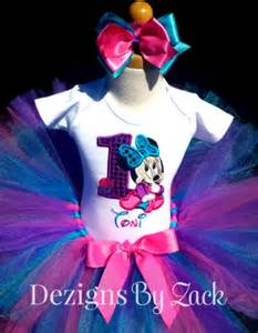 personalized photo guest book minnie mouse cupcake birthday tutu