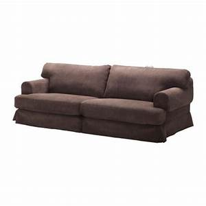 ikea hovas sofa slipcover cover graddo brown graddo hovas With ikea sofa cover