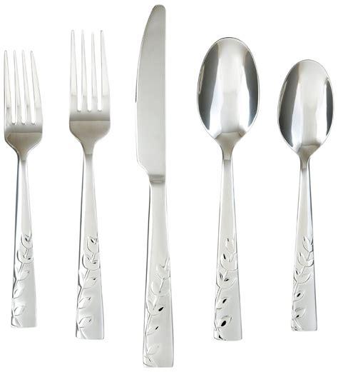 stainless steel silverware 18 10 top 10 best silverware sets 2017 top value reviews