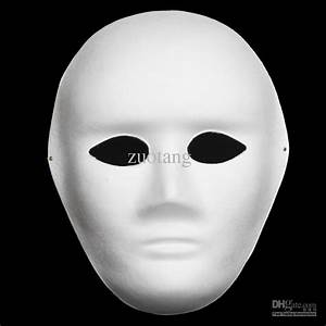 Online Buy Wholesale plain white mask from China plain ...