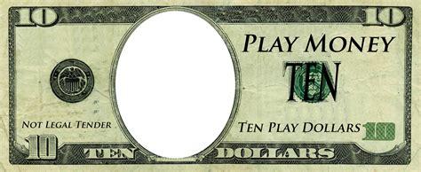realistic play money templates  printable play money