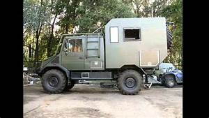 Unimog camper - YouTube