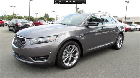2013 Ford Taurus Sho Start Up, Exhaust, And In Depth