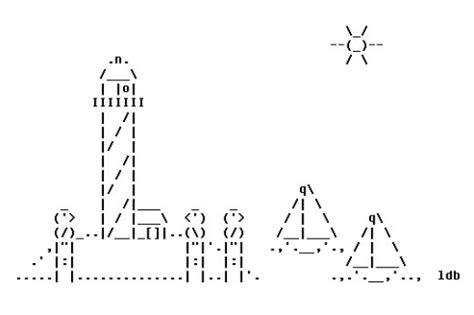 16 Best Ascii Art Images On Pinterest