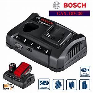 Bosch Pro 18v : bosch gax18v 30 charger professional 10 8v 18v c w usb port ~ Carolinahurricanesstore.com Idées de Décoration