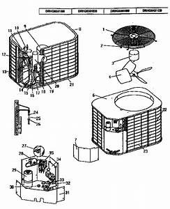 Coleman    Evcon Ind  Remote Heat Pump Parts