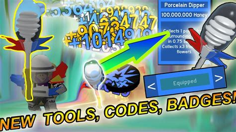 Buying *new* 100million Honey Collector!!!! ( New Codes