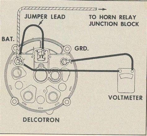 Chevy 3 Wire Alternator Voltameter Diagram by How To Wire A 10 Si Alternator Ehow Invitations Ideas