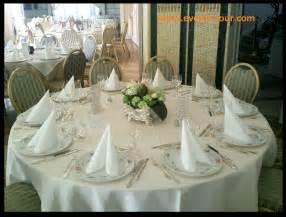 table rabattable cuisine decoration de table mariage chic