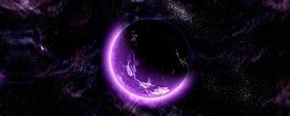 Space Galaxy Purple Planet Universe 1080p Monitor