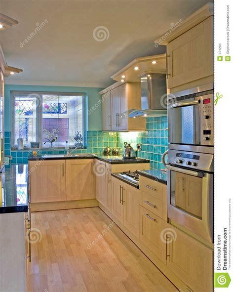 cuisine a la maison cuisine dans la maison britannique de luxe 1 image stock