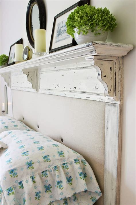 diy headboard ideas  add  decorative touch   bedroom