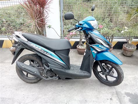 Review Suzuki Address by Review Suzuki Address Caters To Riders Needs Abs Cbn News