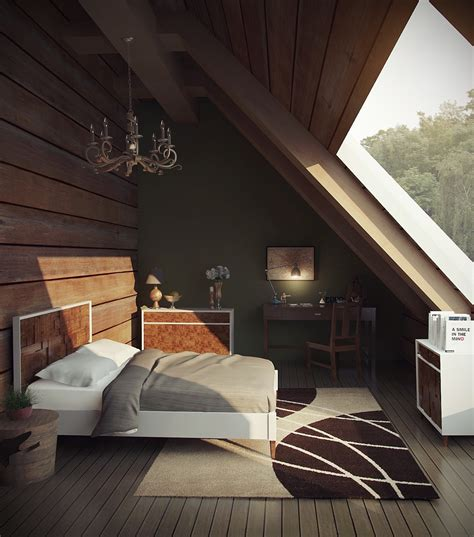 18+ Loft Style Bedroom Designs, Ideas  Design Trends