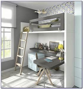 Schrankwand Mit Integriertem Schreibtisch : kleiderschrank mit integriertem schreibtisch haus design ~ Watch28wear.com Haus und Dekorationen