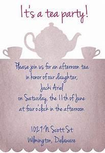 Free Tea Party Invitations To Print Tea Party Invitation Template Free Tea Party