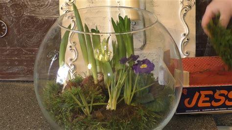 fruehlingsdeko selber machen fruehling im glas blumen im