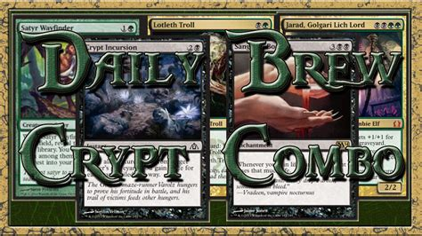 Daily Brew #3 Update  Crypt Incursion Combo For Your Fnm