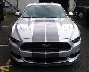 Ford Mustang racing stripes | AJR Signs and Graphics