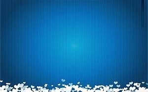 Blue Background With Love