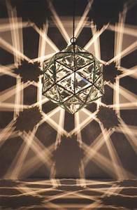 Vibrantly Geometric Illuminators   Geometric Light Sculptures