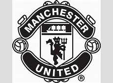 Manchester United Logo Black And White Pictures to Pin on