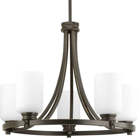 Chandeliers Lighting Collections by Progress Lighting Orbitz Collection 5 Light Antique Bronze
