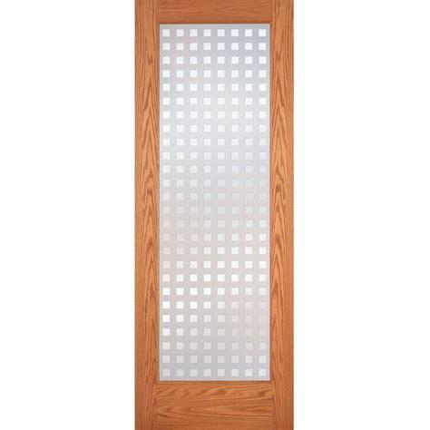 oak interior doors home depot feather river doors 32 in x 80 in privacy smooth 1 lite primed mdf interior door slab