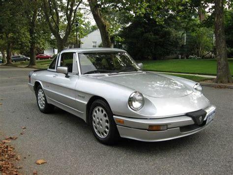 Alfa Romeo United States by Find Used 1986 Alfa Romeo Quadrifoglio Spider In Baldwin