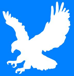 white eagle clip art  clkercom vector clip art