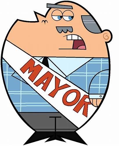 Mayor Dimmsdale Fairly Oddparents Odd Parents Fandom