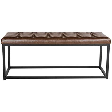 safavieh bench safavieh reynlds brown bench fox6225c the home depot