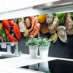 Küchenrückwand Hart Pvc : k chenr ckwand seafood premium hart pvc 0 4 mm selbstklebend direkt auf die fliesen kaufen ~ Orissabook.com Haus und Dekorationen