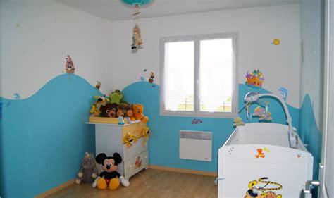 idée peinture chambre bébé garçon couleur mur chambre bb fille dcoration murale chambre bb
