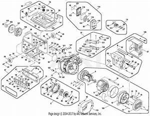 Homelite Hgca3000b Series 3000 Watt Generator Parts