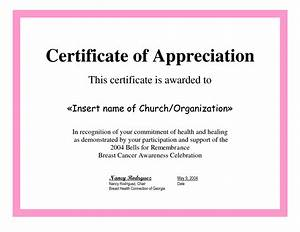 7 best images of printable certificates of appreciation With certification of appreciation template