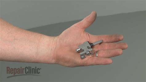 ge gas rangestove replace surface burner valve wbk youtube