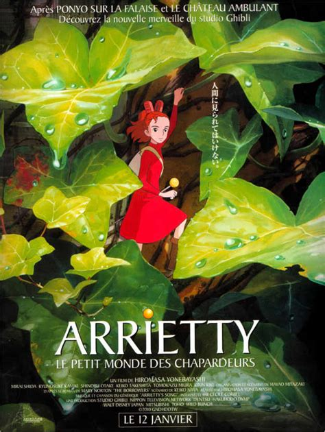 Arrietty (French) Posters and Prints | Posterlounge.co.uk