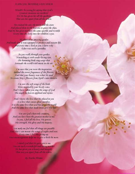 mothers day poem redirecting