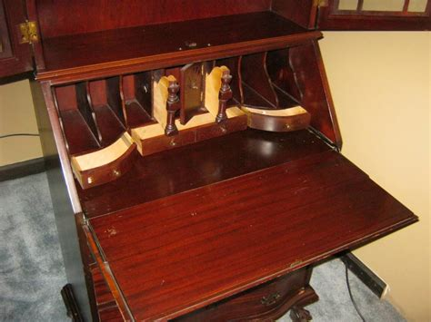 vintage secretary desk with hutch antique drop front secretary desk with hutch antique