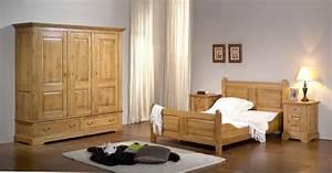 meuble en bois moderne pour chambre urbantrottcom With les chambre a coucher en bois