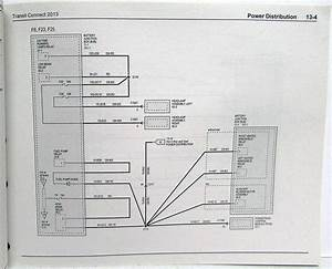 2013 Ford Transit Connect Electrical Wiring Diagrams Manual