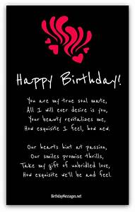 Romantic Birthday Poems - Page 2 | Fit.n.Sexy | Pinterest ...