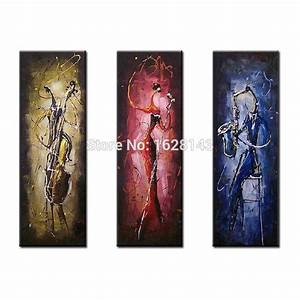 Jazz art reviews online shopping jazz art reviews on for What kind of paint to use on kitchen cabinets for music canvas wall art