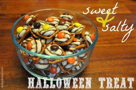 treats easy to make sweet and salty halloween treats baby dickey chicago il mom blogger