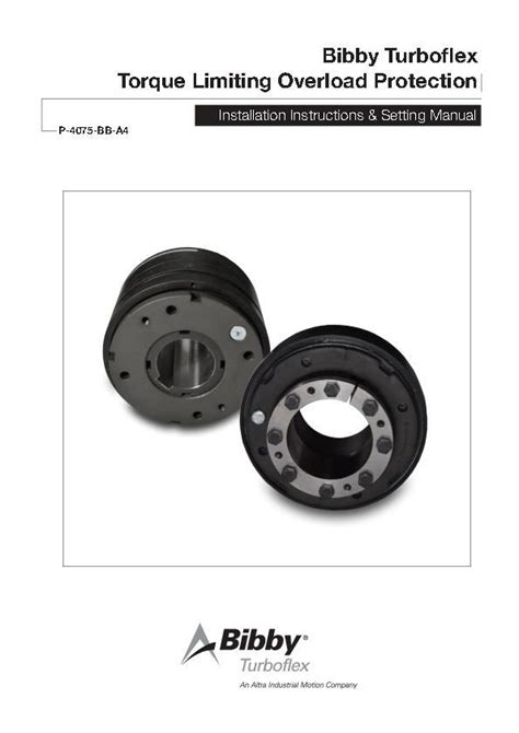 disc spring torque limiters bibby turboflex