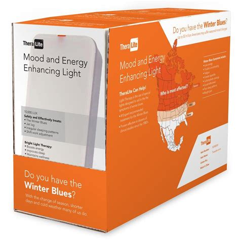 TheraLite 10,000 LUX Mood and Energy Enhancing Bright