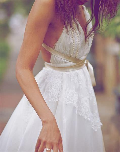 backless wedding dress lace beautiful wedding dress white silk and lace