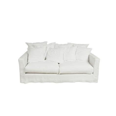 housse d assise de canapé canapé 3 places et housse blanc voilé canapé structure en